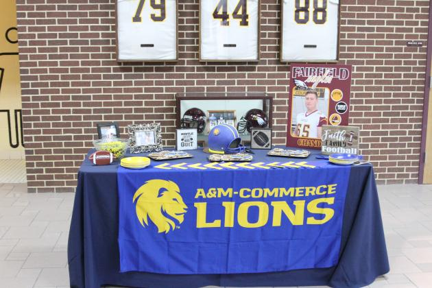 Noble will be transitioning from an Eagle to a TAMU-Commerce Lion in 2020.